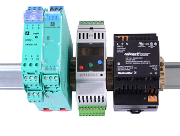 UFM Guard pig detector- DIN-rail for pig detection system