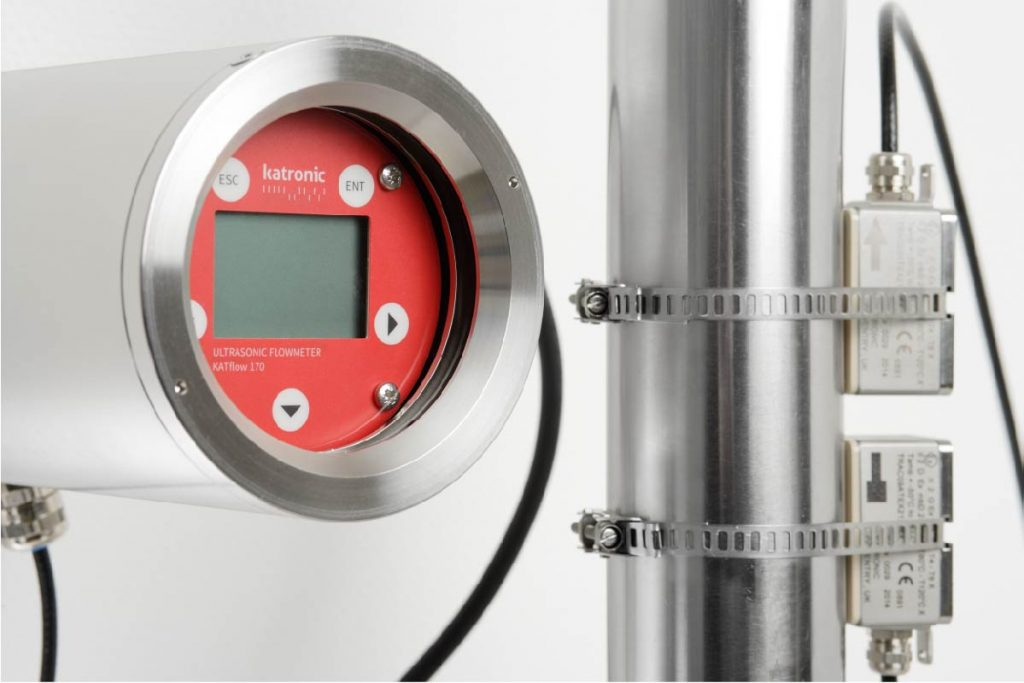 KATflow 170 (ATEX) - fixed stainless steel ultrasonic flowmeter | U-F-M b.v.