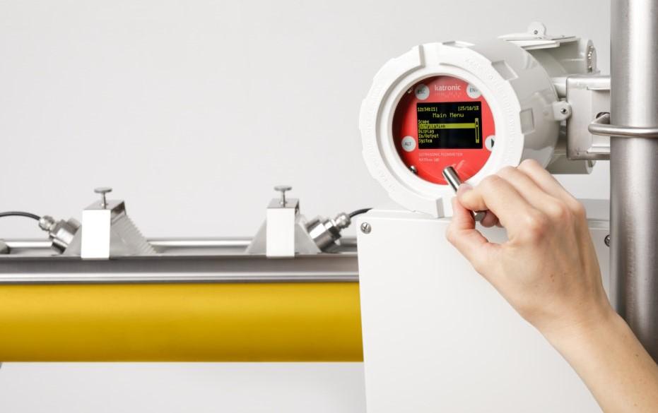 KATflow 180 G - ultrasone gas flowmeter met sensoren | U-F-M b.v.