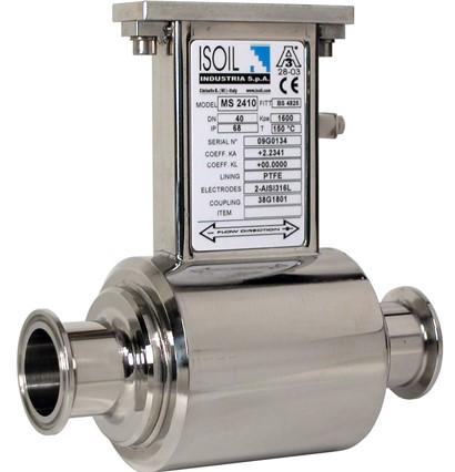 MS 2410 - sanitaire sensor voor elektromagnetische flowmetingen | U-F-M b.v.