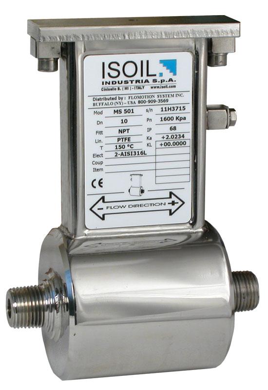 MS 501 microflow sensor elektromagnetische flowmeter