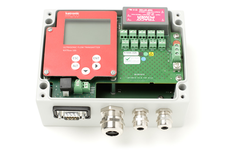 KATflow 100 - compacte ultrasone flowtransmitter vaste opstelling | U-F-M b.v.