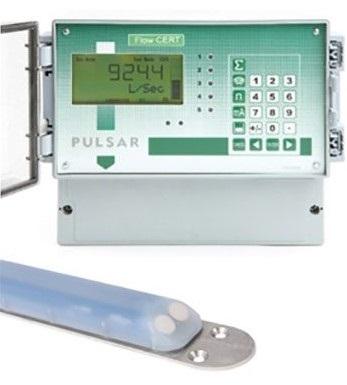 FlowCERT flowmeter systeem met Speedy snelheidssensor - open kanalen | U-F-M b.v.