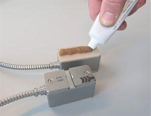 Koppelmiddel - koppelpasta of gel voor ultrasone flowmeters | U-F-M b.v.