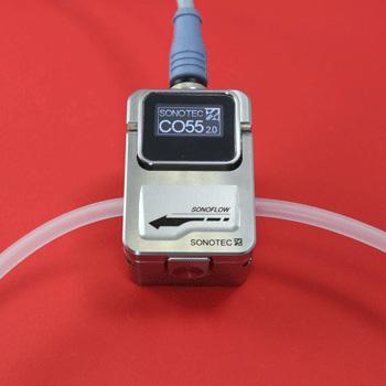 SONOFLOW CO.55 - ultrasone flow sensor - remote display | U-F-M b.v.