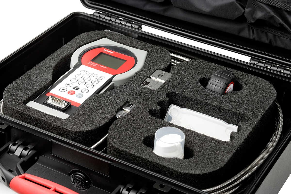 Rental ultrasonic flowmeters - the KATflow 200 | U-F-M bv