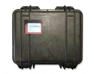 KATflow 210 - portable ultrasonic flowmeter in case with optional window | UFM b.v.